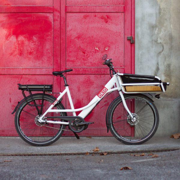 Pack vélotaf élec : Utiléö + enveloppe + sangles élastiques