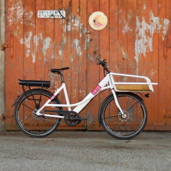 Oklö Utiléö, vélo porteur à assistance électrique