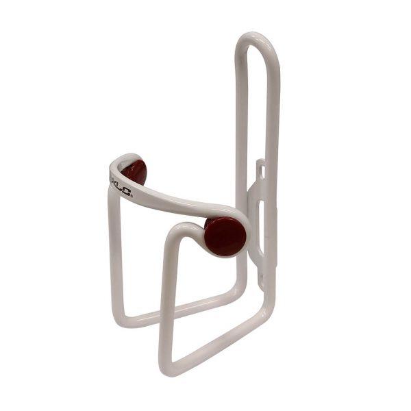 Porte-bidon XLC blanc et rouge
