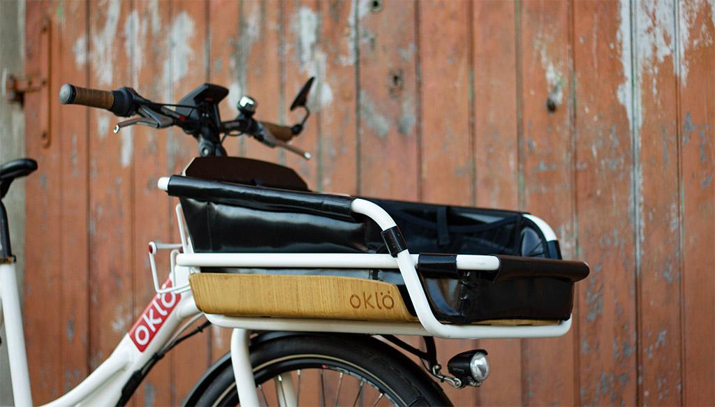 Baquet avant Oklö sur le modèle Utiléö