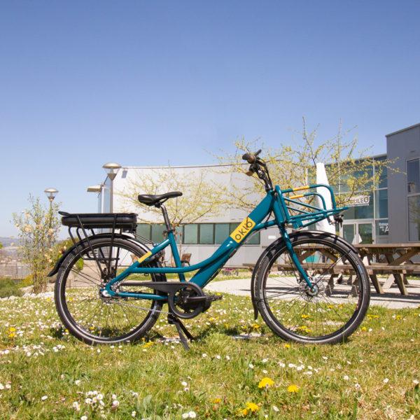 Vélo Postal 500Wh profil