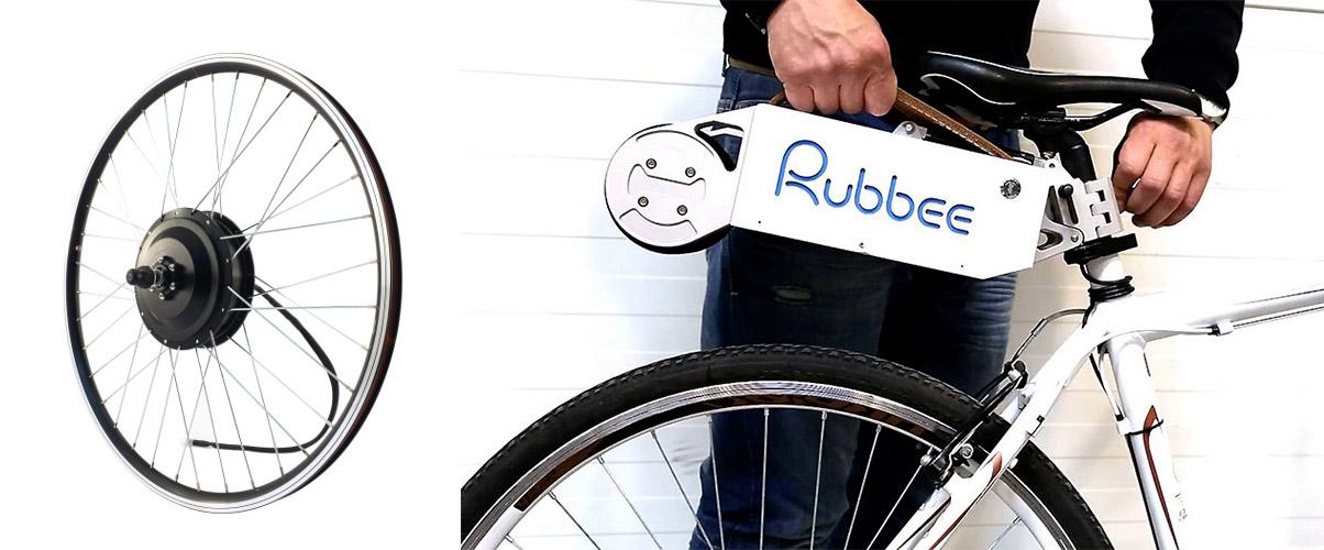 motorisations légères : moteur roue ou galet Rubbee