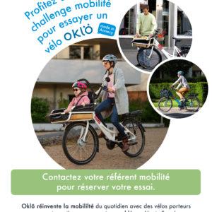 Jusqu'au 22 Septembre, essayez un vélo Oklö pour la semaine de la mobilité !