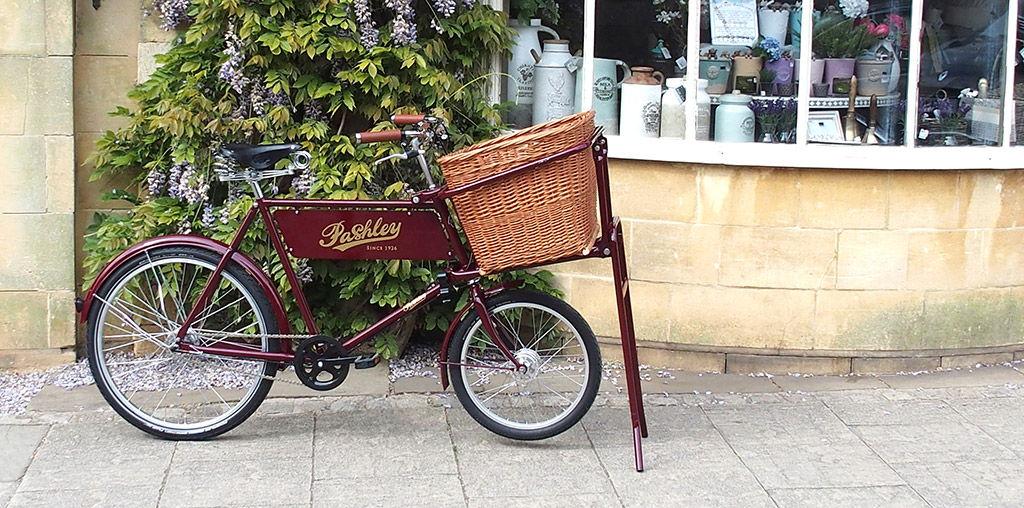 Vélo porteur Pashley Deli Bike