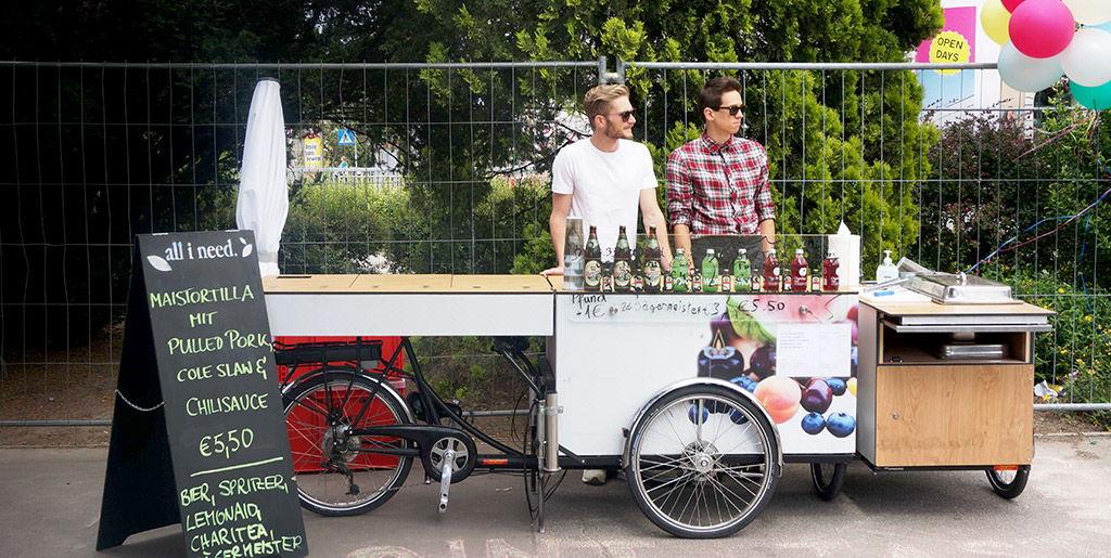 Food bike Paul and Ernst