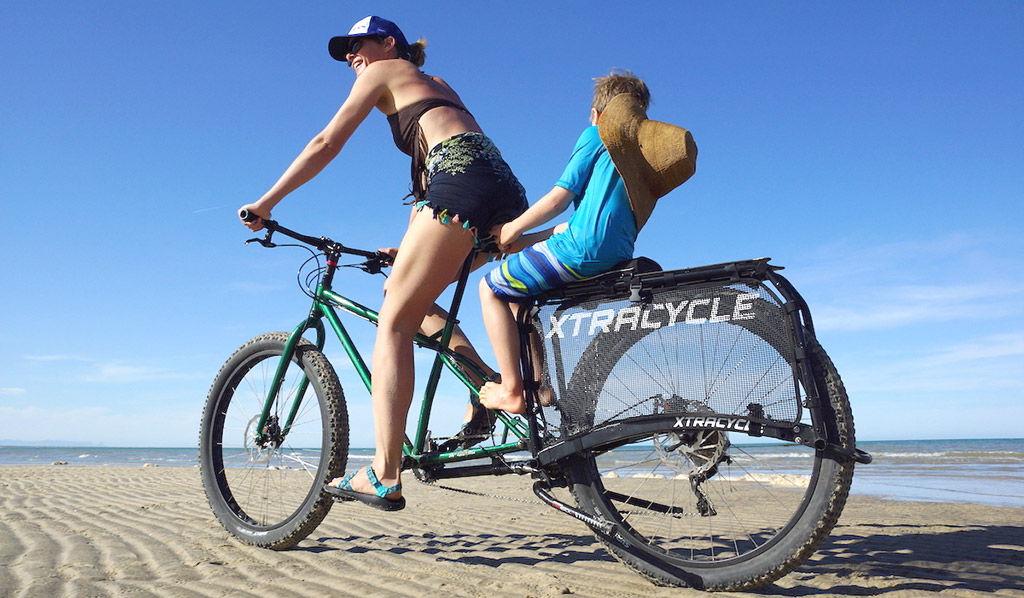 Accessoire Xtracycle pour rallonger un vélo classique