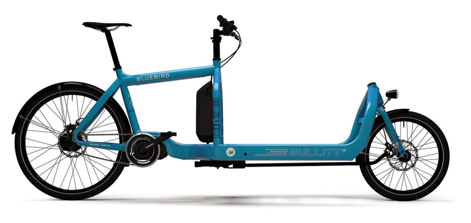 Vélo cargo biporteur de coursier Larry Vs Harry Bullitt