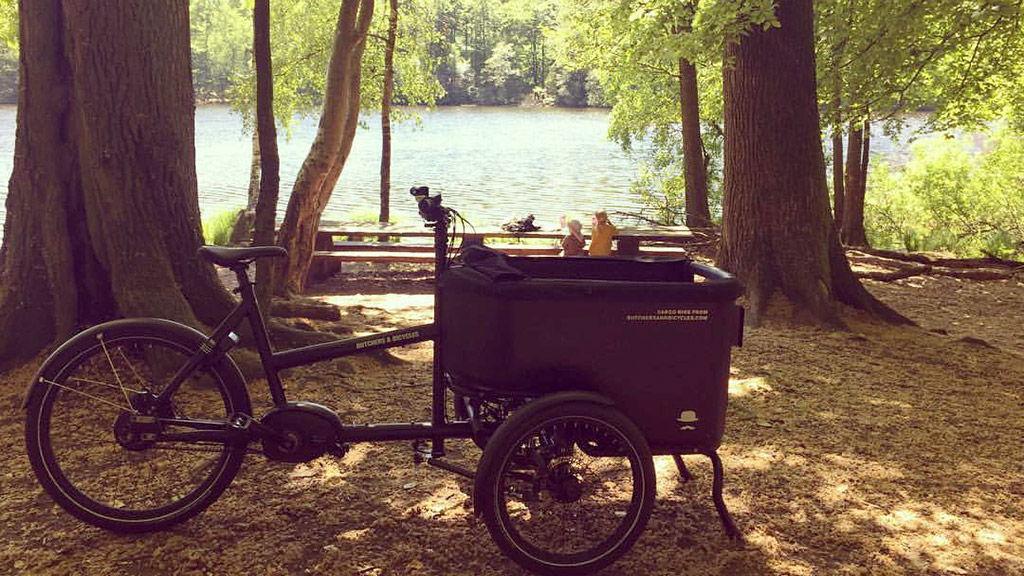 Triporteur pendulaire Butcher & Bicycles