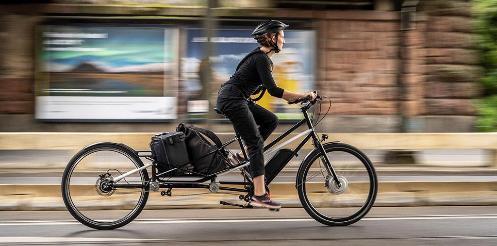 Vélo convertible en cargo Convercycle
