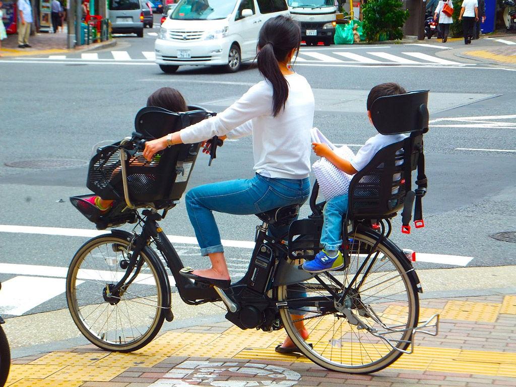 vélo mamachari japonais