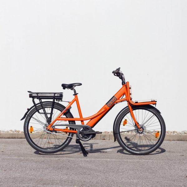 Prokess, le vélo de transport de caisses