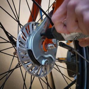 Tuto : graisser des freins Shimano Roller Brakes